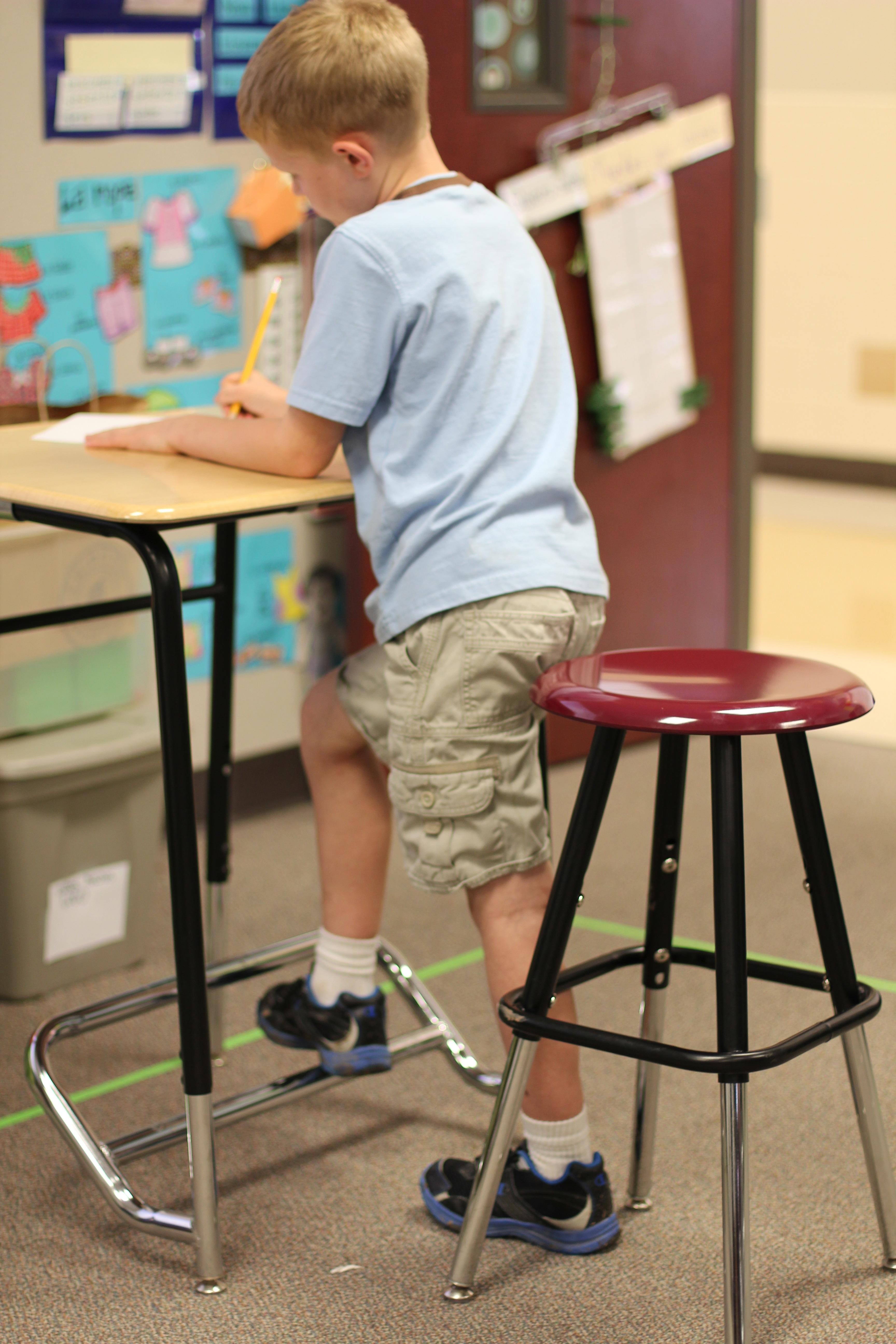 Alternative Seating Sit Stand Class Room Desks Olathe